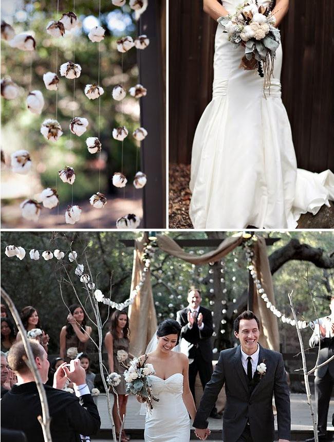 raw cotton wedding details