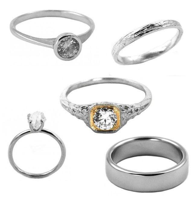 wedding rings from heirlooms