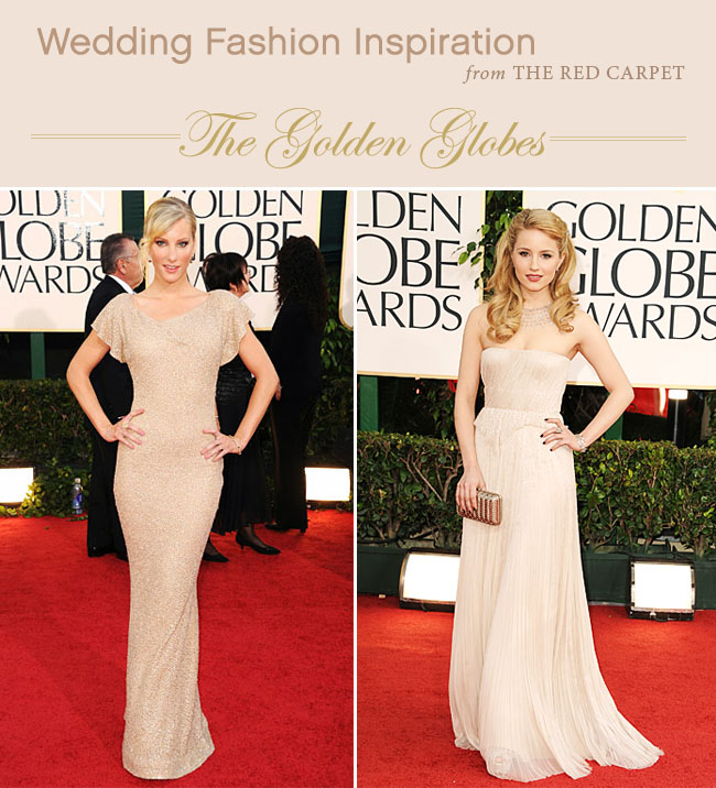 1235a456c4ab Wedding Fashion Inspiration from the Red Carpet: The Golden Globes ...