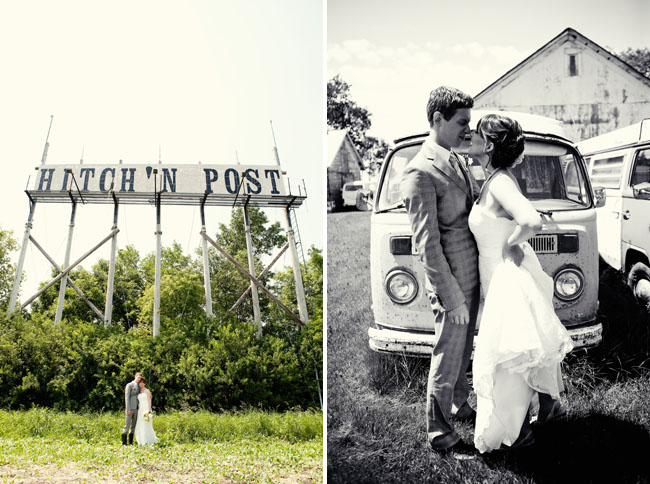 hitching post wedding