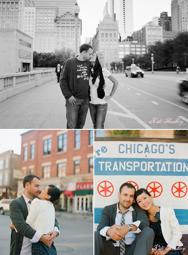chicago engagement photos kate headley