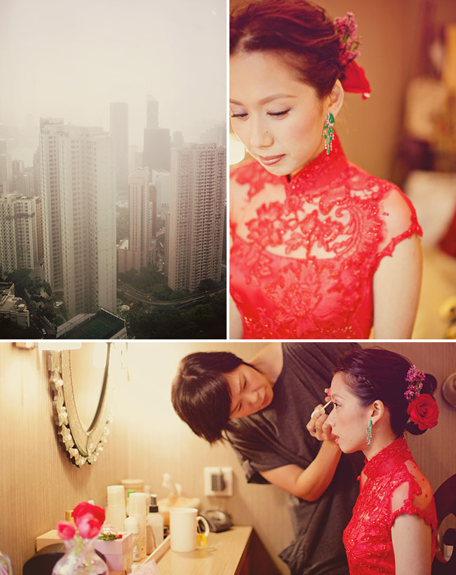 red wedding dress china
