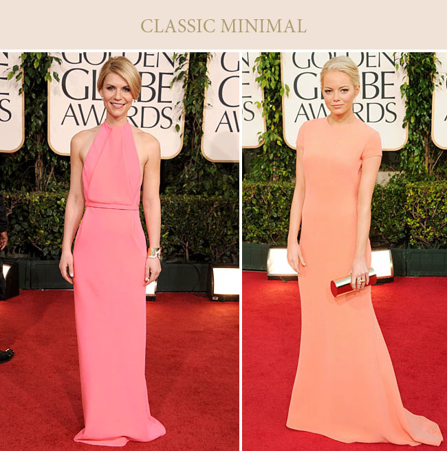 Wedding Fashion Inspiration from the Red Carpet: The Golden Globes ...