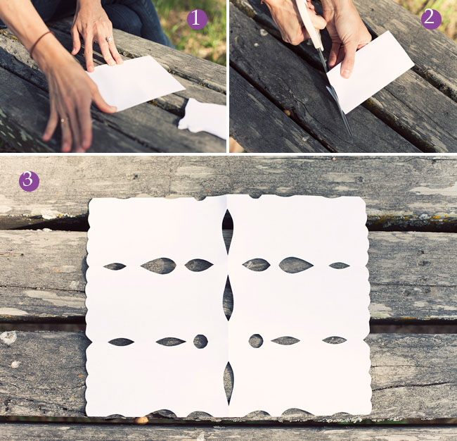 instructions to make a papel picado