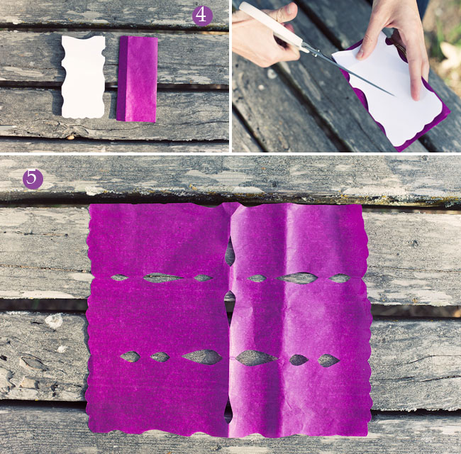 make your own paper flags