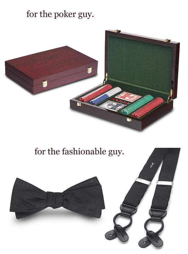 groomsmen gifts poker bow tie