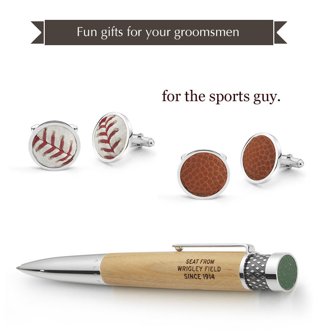 groomsmen gifts sports