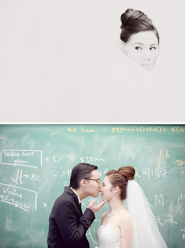 engagement photos with chalkboard