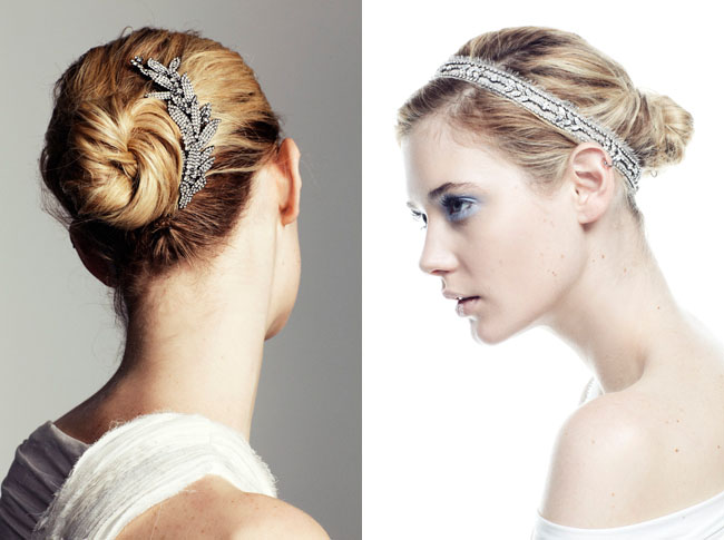 sparkly hair headbands jennifer behr