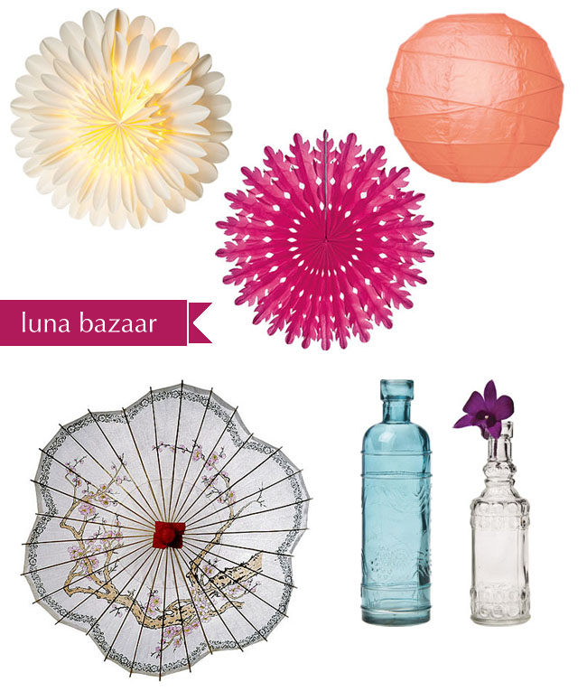 luna bazaar wedding lanterns