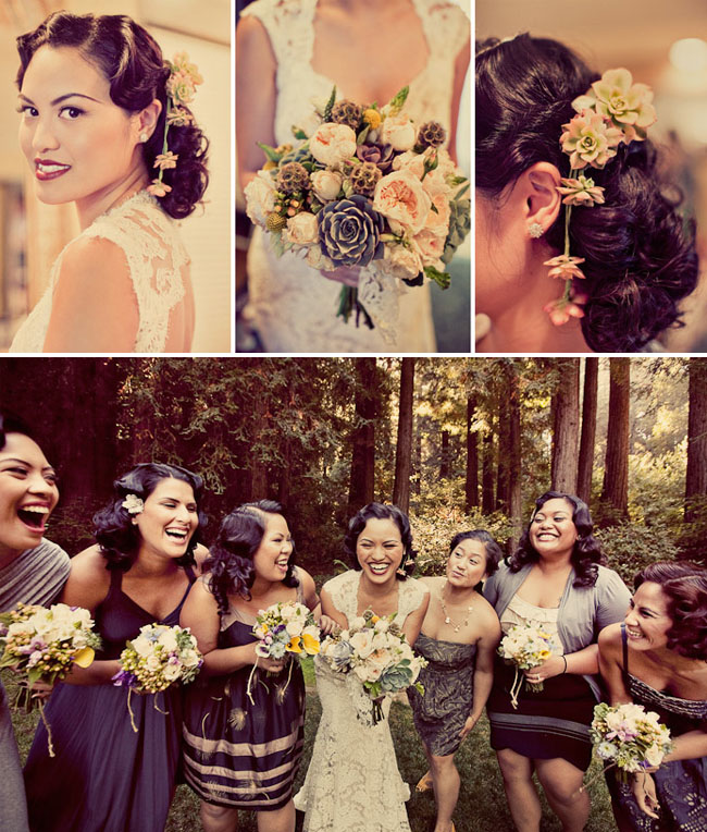Real Wedding: Joann + Jon's 1920's Nestldown Wedding