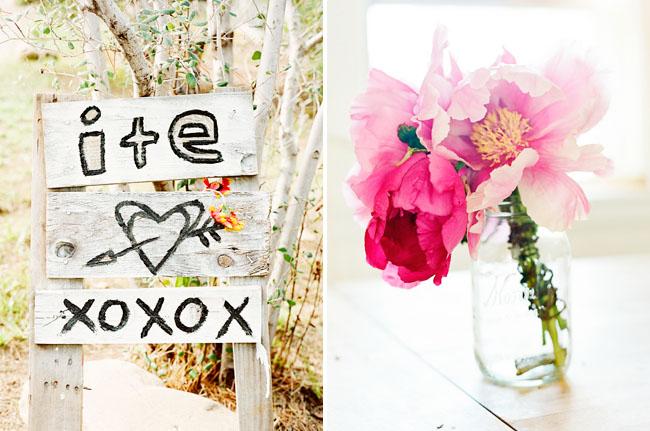 pink peony wedding