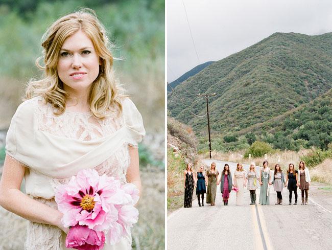 peony bouquet bridesmaids