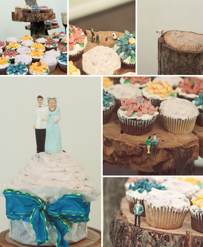cupcakes at wedding