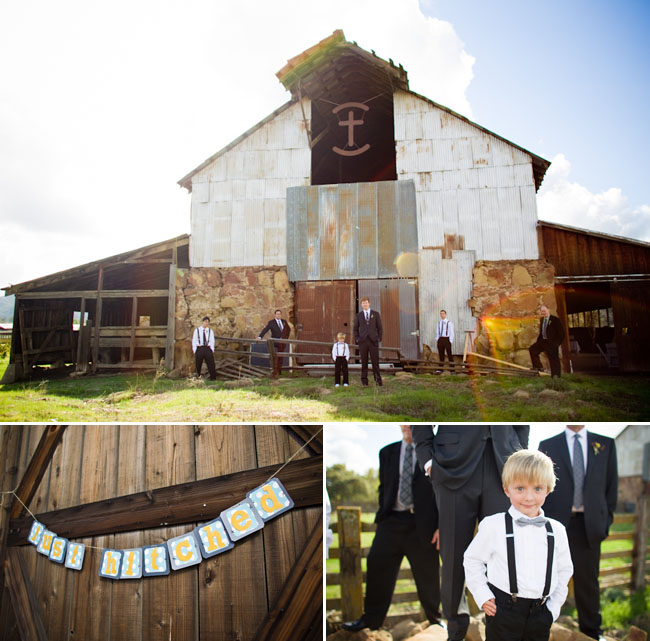 barn wedding california