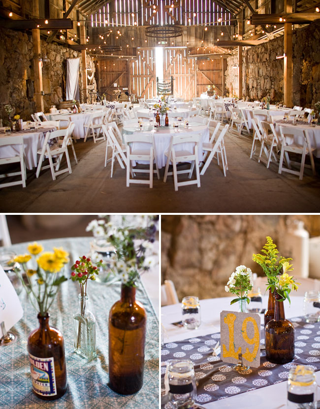 Danielle Jeremys Real Barn Wedding