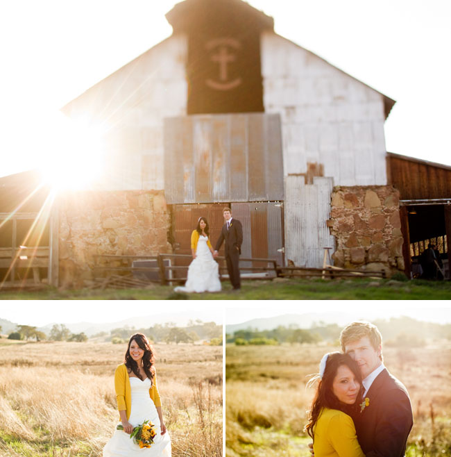 barn wedding california