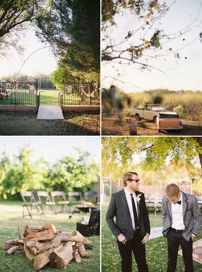 Superbe Backyard Wedding Groom