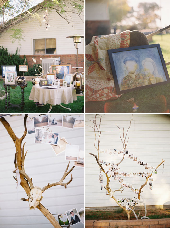 antlers as wedding decoration