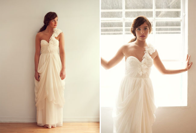 sarah seven wedding dress long