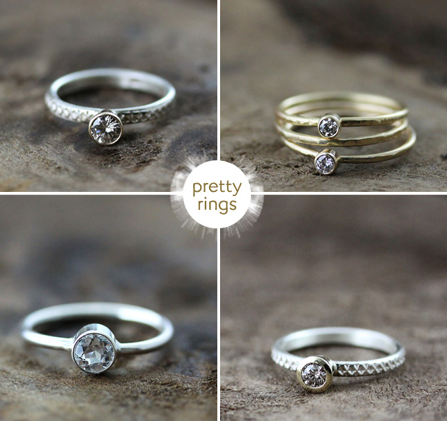 Recycled and Ethically Minded Diamond Wedding Rings