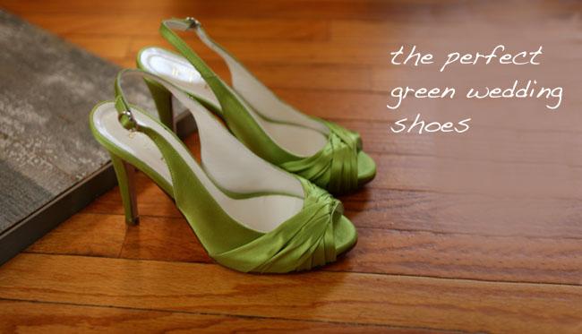 bhldn green wedding shoes