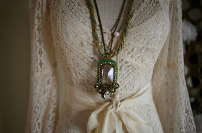 lace wedding dress bhldn