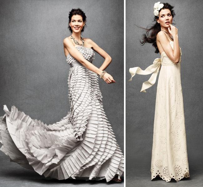wedding dress pleats