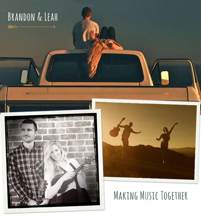 brandon and leah music