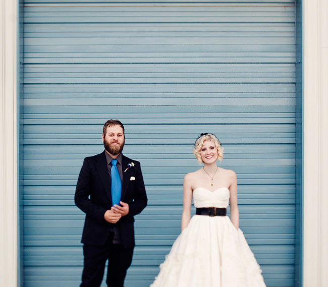 cool wedding portraits