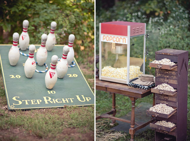 popcorn and vintage games