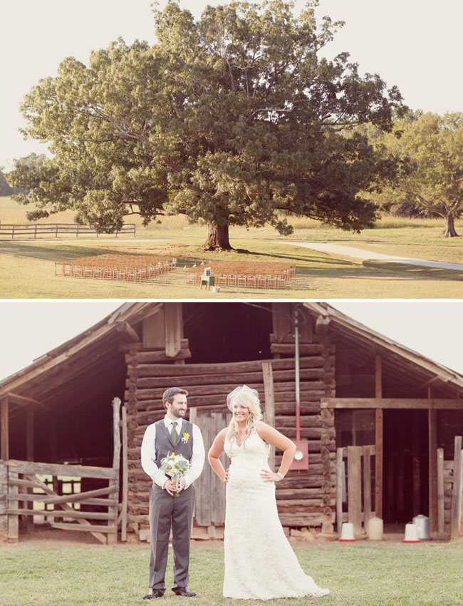 Emily Ryans Fun Farm Real Wedding