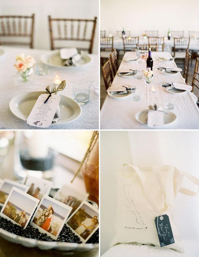 dinner table wedding