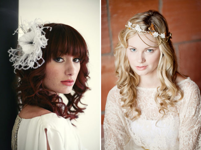 hair pieces for bride