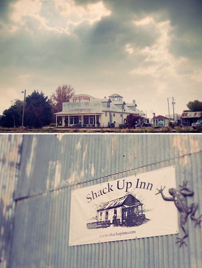 shack up inn wedding