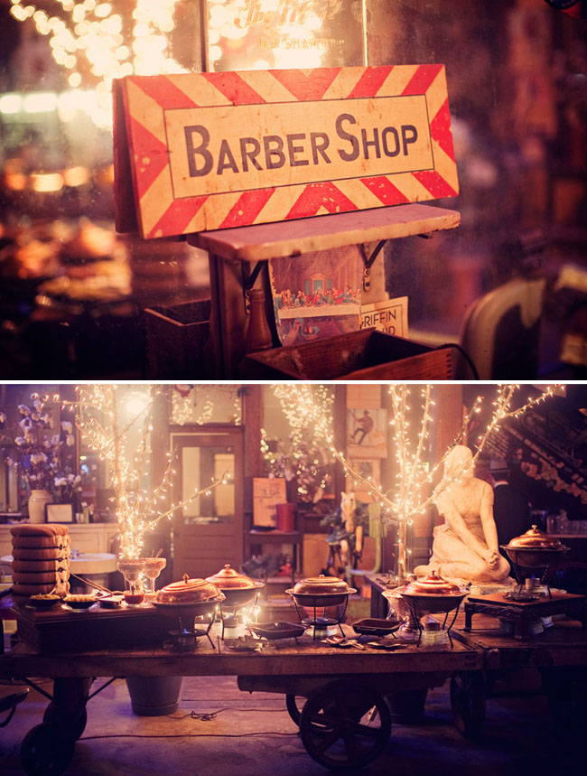 barber shop reception