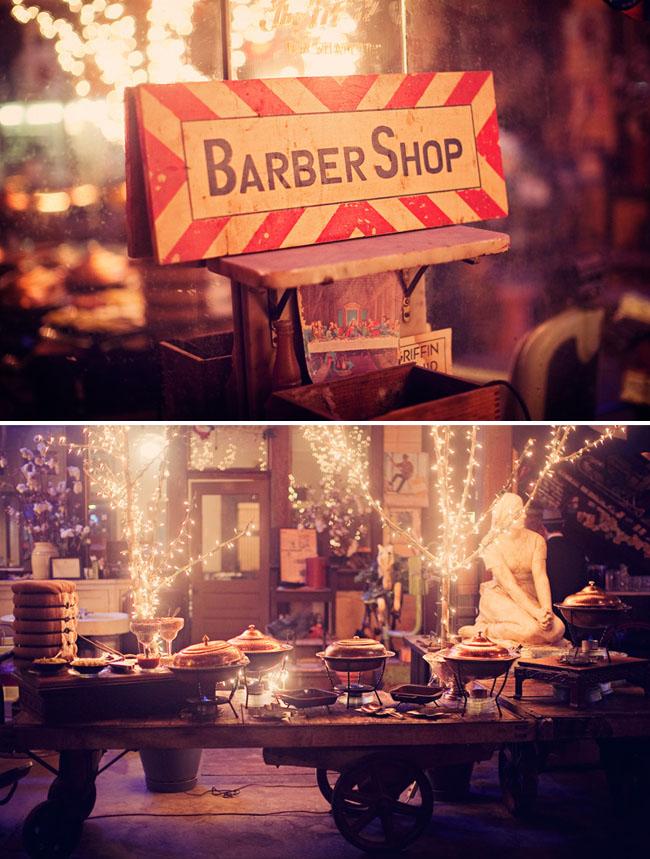 barber shop reception