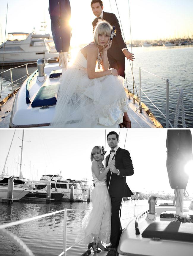 Whitney + Drew: Nautical Day After Wedding Photos