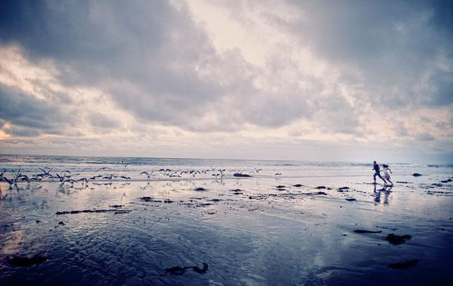 epic beach photo