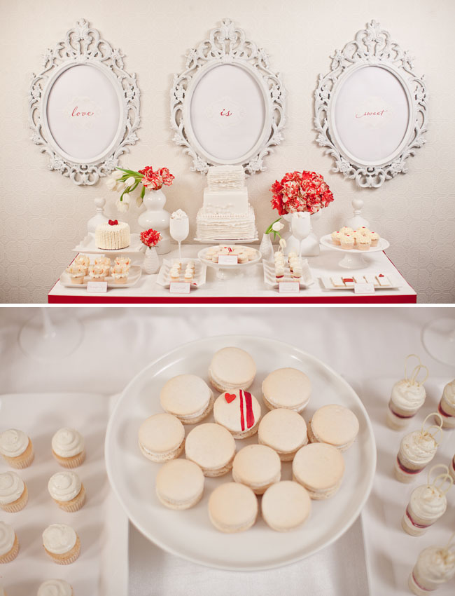 love is sweet dessert table