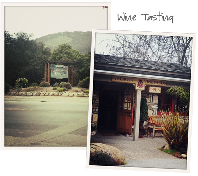 wine tasting carmel valley