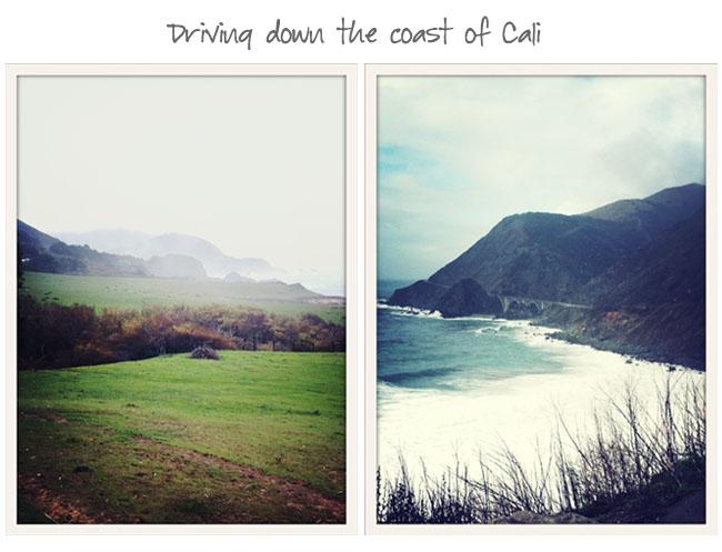 Cali coast drive
