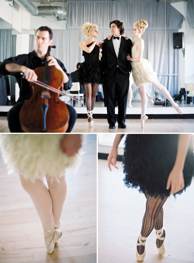 ballerina wedding