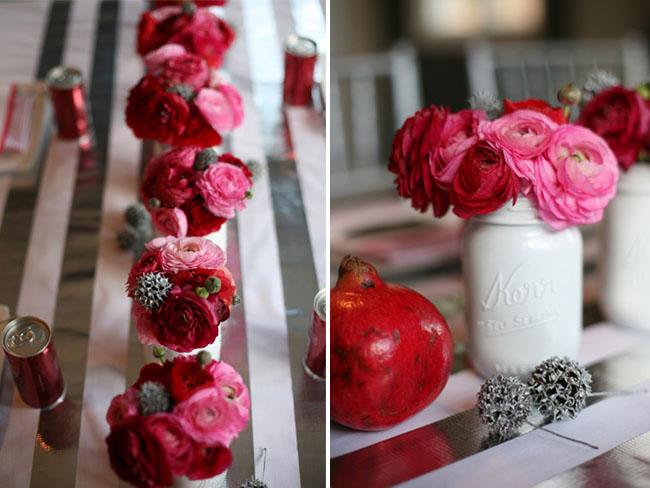Bridal shower party ideas green wedding shoes weddings fashion lifestyl - Decoration pot de confiture ...