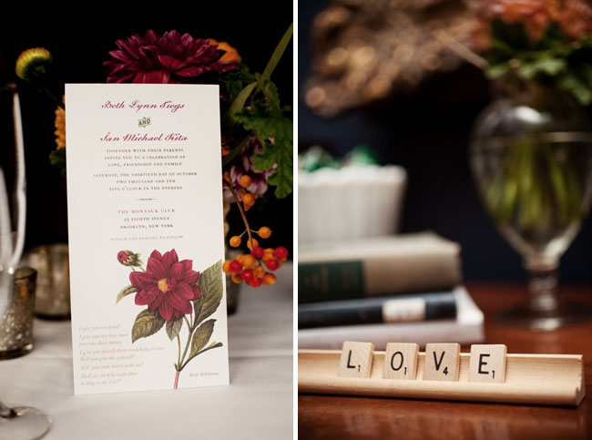 wedding invitation flower