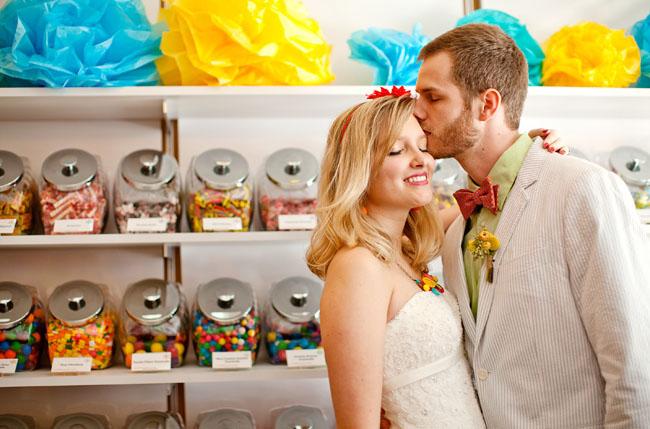 candy theme wedding