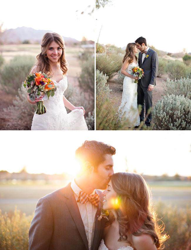 Real Wedding: Jenna + Ryan\'s Colorful Handmade Arizona Wedding ...