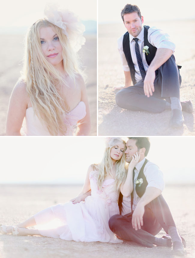 pink wedding dress claire lafaye