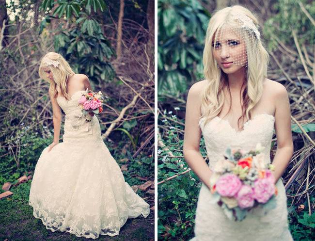 Real wedding jessica jason 39 s whimsical vintage miami for Vintage wedding dresses miami