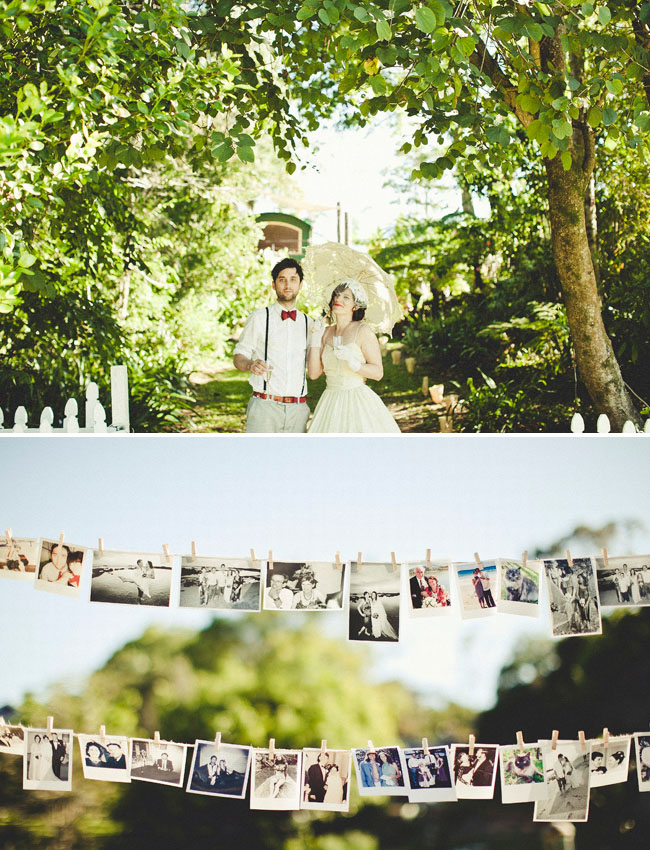 Real Wedding Megan Ross Garden Party Australian Wedding Green